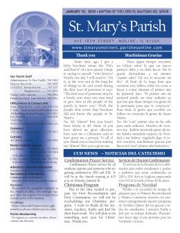 St. Mary`s Parish