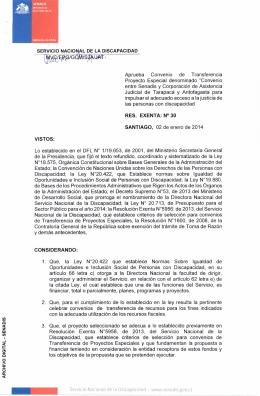 enlace - Servicio Nacional de la Discapacidad