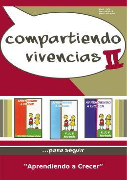 Aprendiendo a Crecer - Compartiendo Vivencias 2010