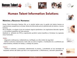 Folleto interactivo - Soluciones de Software Empresarial