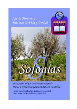 Sofonias - Palabra de Vida y Verdad