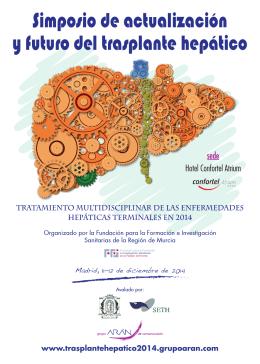 simposio de actualización y futuro del trasplante hepático