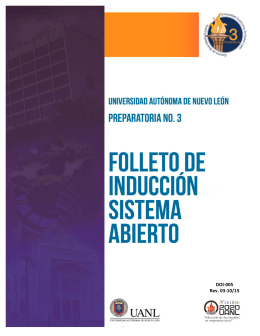 DOI-005 Rev. 03-10 15 Folleto de Inducción al