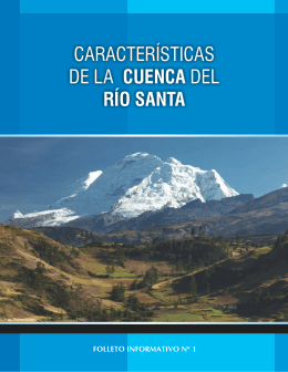 Características de la Cuenca del Río Santa
