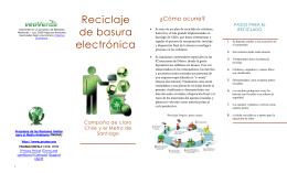 Reciclaje de basura electrónica - 2010-UESJLS