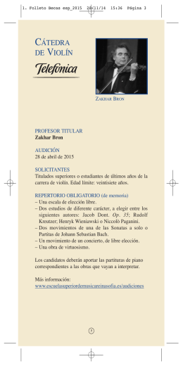 1. Folleto Becas esp_2015 - Escuela Superior de Música Reina Sofía.