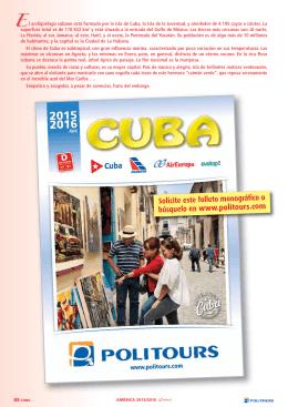 Solicite este folleto monográfico o búsquelo en www.politours.com