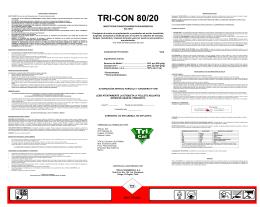 TRI-CON 80/20 - Servicio Agrícola y Ganadero