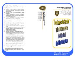 City Ordinance Brochure