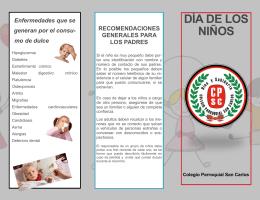 DÍA DE LOS NIÑOS