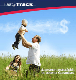 Fast Track - amway argentina