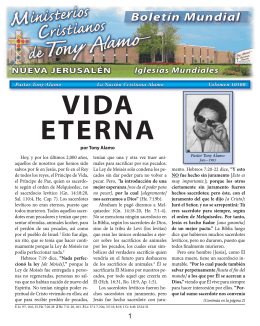 Vida Eterna - Tony Alamo Christian Ministries