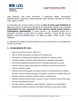 Folleto LegalPublishing