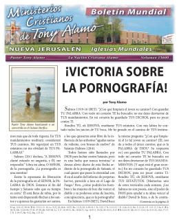 ¡victoria sobre la pornografía! - Tony Alamo Christian Ministries