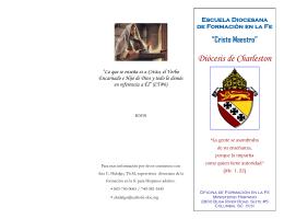 Escuela Diocesana de Formación en la Fe