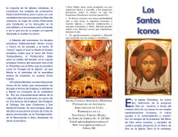 Los Santos Iconos - Iglesia Católica Apostólica Ortodoxa de la