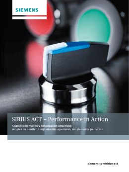 SIRIUS ACT – Performance in Action