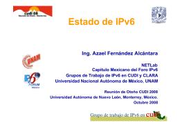 Grupo de IPv6