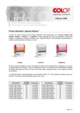 "Febrero 2009 2 Printer Standard ""Special Edition"" Green"