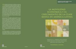 LA MOVILIDAD ECONóMICA Y EL CRECIMIENTO DE LA CLASE