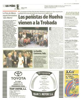 Los penistas de Huelva vienen a la Trobada