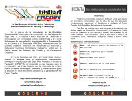 Para información detallada descarga el folleto en PDF