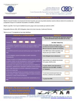 Agenda Ordinaria CCCP JSG - Central Mexicana de Servicios