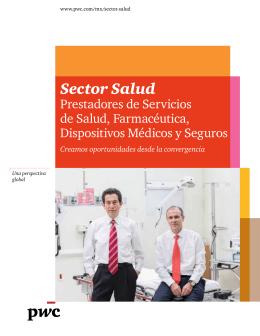 Folleto del Sector Salud de PwC México