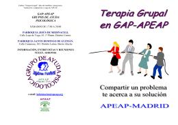 Terapia grupal - GAP