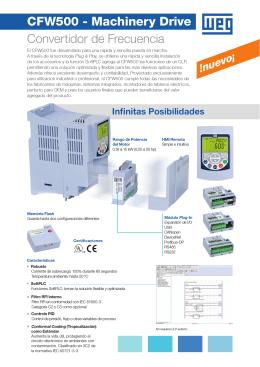 CFW500 Machinery Drives