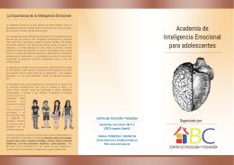 Academia de Inteligencia Emocional para adolescentes