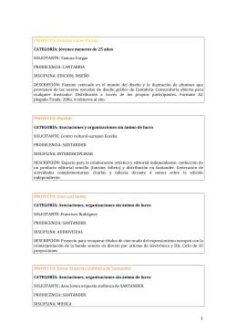 PROYECTO: Fanzine Carne Picada CATEGORÍA: Jóvenes menores