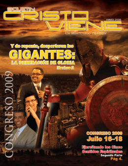 Junio 2009 PDF - IGLESIA DEL DIOS VIVO, El Paso, TX