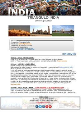 TRIANGULO INDIA