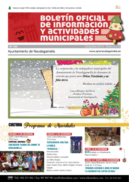 boletín oficial de información y actividades municipales