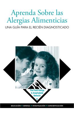 Guía Para Vivir Con Alergias Alimenticias