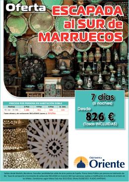 escapada al sur de marruecos