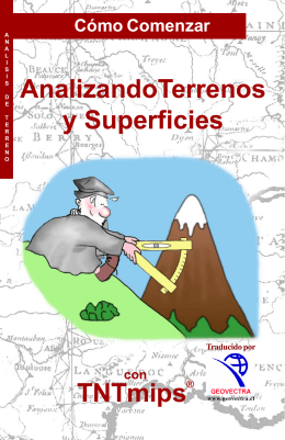 AnalizandoTerrenos y Superficies TNTmips®