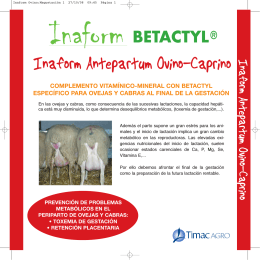 folleto inaform antepartum ovino caprino