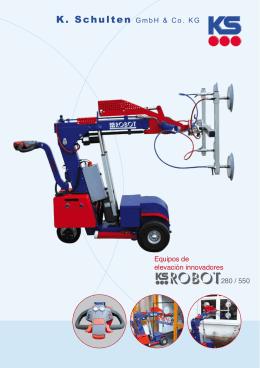 Robot cristalero KS 280 y 550 PDF - Spain