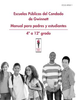 Escuelas Públicas del Condado de Gwinnett Manual para padres y