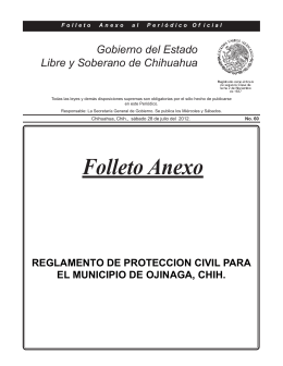 Folleto Anexo - Auditoría Superior del Estado de Chihuahua