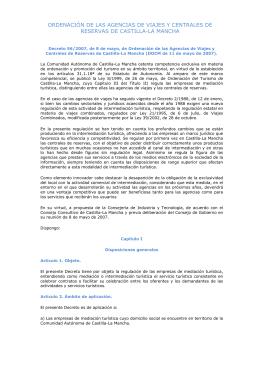 Decreto 56-2007 de 8 de mayo, de ordenación de