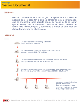 Folleto Gestion Documental.cdr