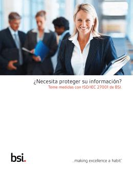 Guía de Producto ISO/IEC 27001