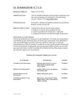 EL SEMBRADOR (C.7.1.2)