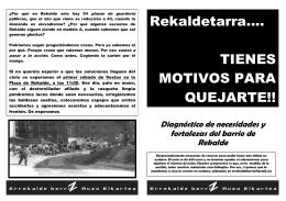 Boletín Rekaldeberri 2008