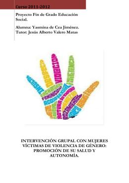 Intervención grupal con mujeres víctimas de violencia de