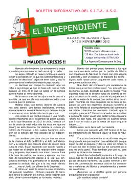 Noviembre 2012.pub - Sindicato Independiente de Trabajadores de