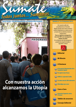 Boletín Voluntarios N14